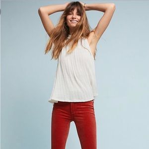 Anthropologie Pilcro High-Rise Skinny Corduroys